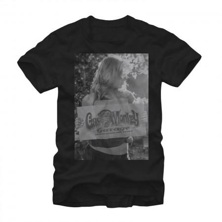Gas Monkey Garage Sign Black T-Shirt