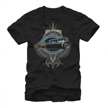 Gas Monkey Garage Kustom Rod Black T-Shirt