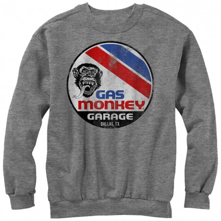 Gas Monkey Garage Le Mans Gray Sweatshirt