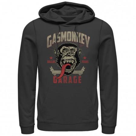 Gas Monkey Garage Framed Black Pullover Hoodie