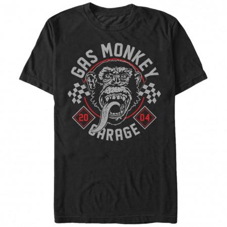 Gas Monkey Garage Kustom Monkey Black T-Shirt