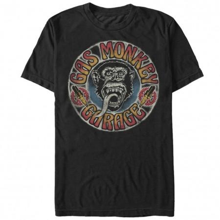 Gas Monkey Garage Grateful Garage Black T-Shirt