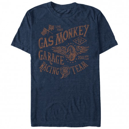 Gas Monkey Garage Racing Team Blue T-Shirt