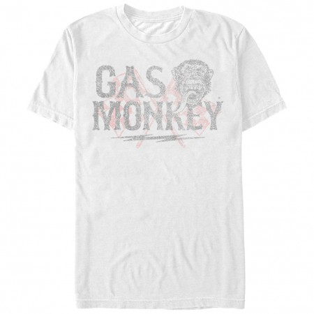 Gas Monkey Garage Need For Speed White T-Shirt