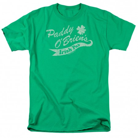 St. Patrick's Day Paddy O'Briens Irish Pub Green T-Shirt