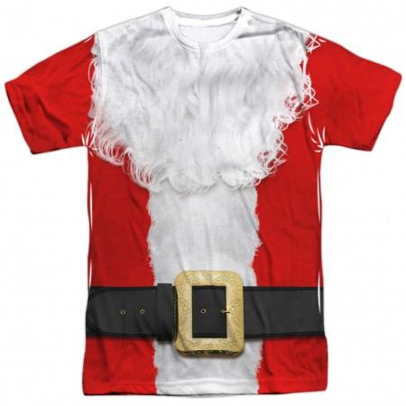 Santa Claus Christmas Costume Men's T-Shirt