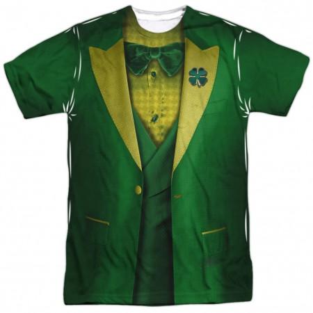 St Patrick's Day Leprechaun Irish Suit Costume T-Shirt