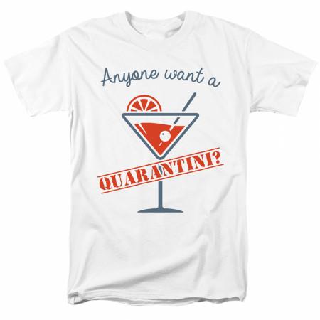 Quarantini Social Distancing Men's T-Shirt