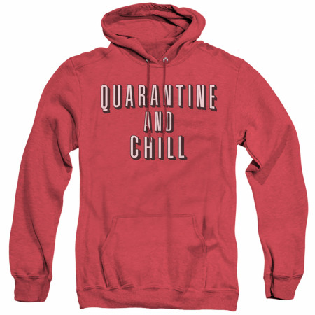 Quarantine and Chill Social Distancing Hoodie