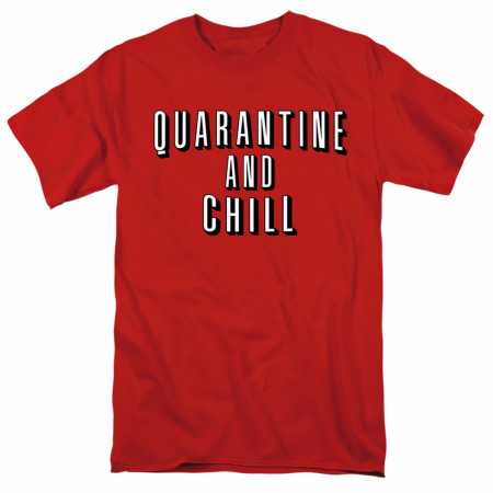 Quarantine and Chill Social Distancing Men's T-Shirt