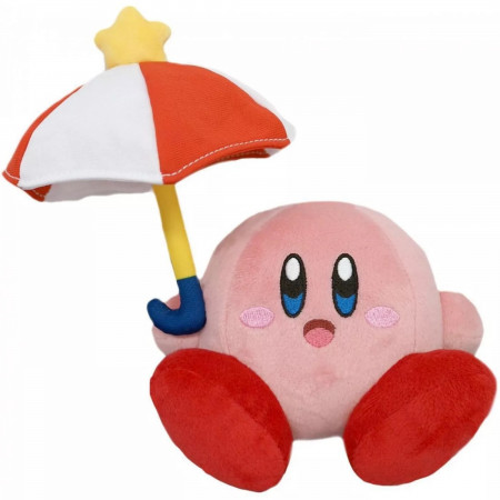 "Kirby and Parasol 5"" Plush Doll"
