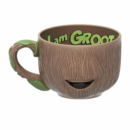 Guardians of the Galaxy Groot Sculpted Mug