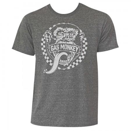 Gas Monkey Heather Grey T-Shirt