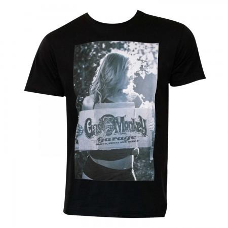 Gas Monkey Garage Men's Black Portrait T-Shirt