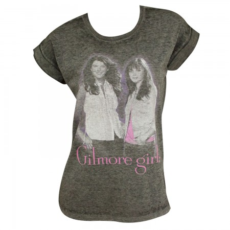 Gilmore Girls Women's Rolled Sleeves Tshirt