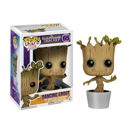 Guardians Of The Galaxy Dancing Groot Funko Pop Bobble Head