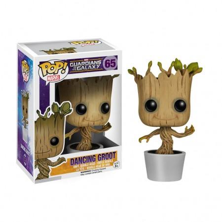 Guardians Of The Galaxy Dancing Groot Funko Pop Bobble Head