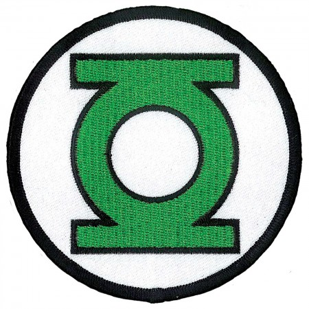Green Lantern Comic Logo Iron On Patch