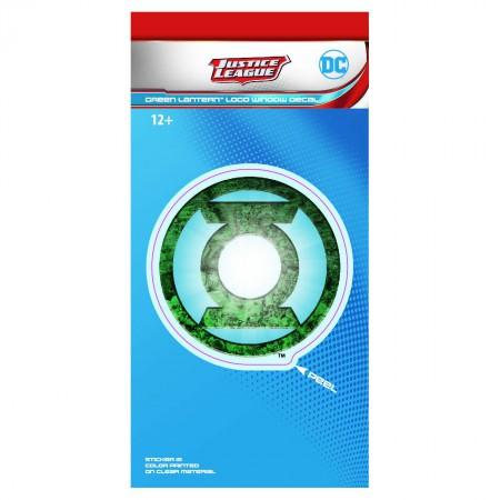 Green Lantern Comic Logo Decal