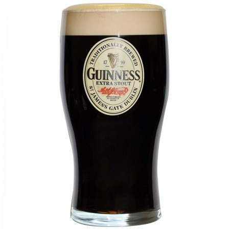 Guinness Extra 20 Ounce Glass
