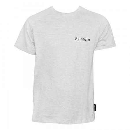 Guinness Light Gaelic Label Tee Shirt