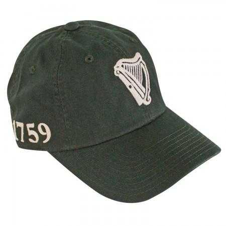 Guinness Harp Logo 1759 Dark Green Hat