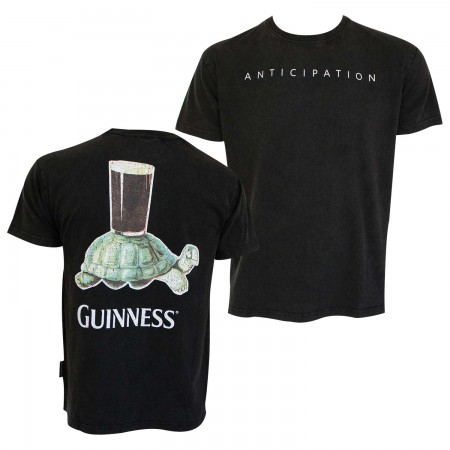 Guinness Men's Black Anticipation T-Shirt