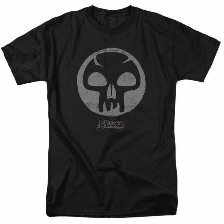 Magic the Gathering Black Mana T-Shirt