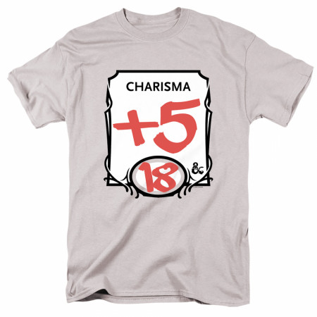 Dungeons & Dragons +5 Charisma T-Shirt