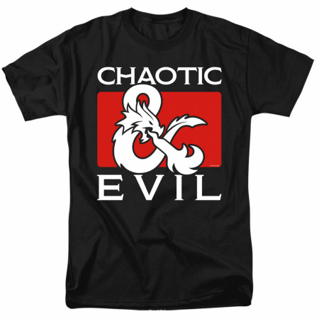 Dungeons & Dragons Chaotic Evil T-Shirt
