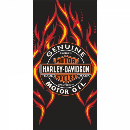 Harley Davidson Motor Oil 30x60 Towel