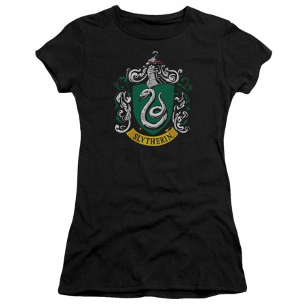 Harry Potter Slytherin Crest Womens Tshirt