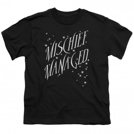 Harry Potter Mischief Managed Youth Tshirt