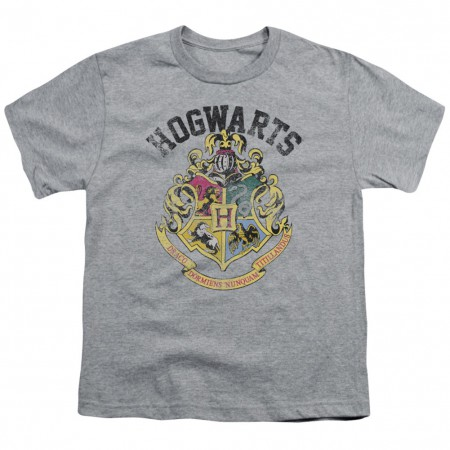 Harry Potter Hogwarts Crest Tie Youth Tshirt