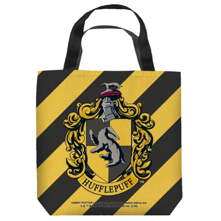 Harry Potter Hufflepuff Crest Tote Bag