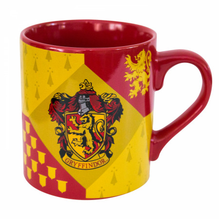 Harry Potter Red & Yellow Gryffindor Mug