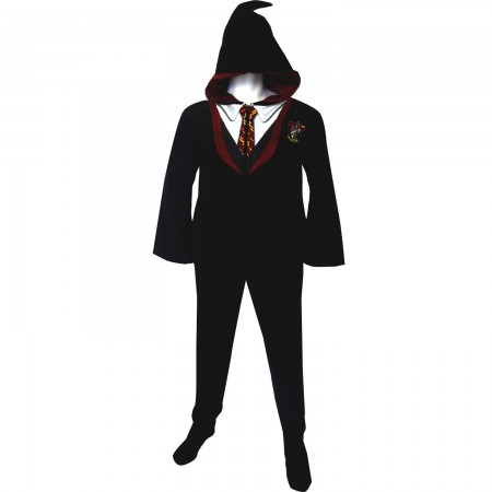 Harry Potter Gryffindor Adult Union PJ Suit
