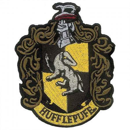 Harry Potter Hufflepuff School Insignia Iron On Patch