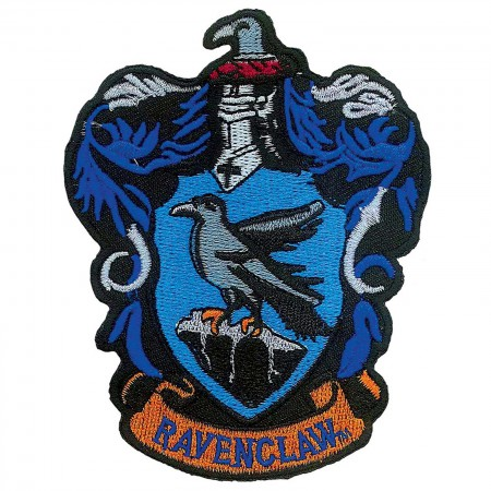Harry Potter Ravenclaw School Insignia Iron On Patch