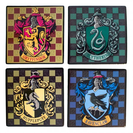 Harry Potter Hogwarts Coaster Set