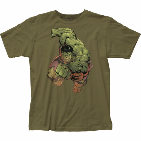 Incredible Hulk Punch Men's T-Shirt