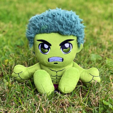 Marvel Incredible Hulk 8 Inch Kuricha Sitting Plush Doll