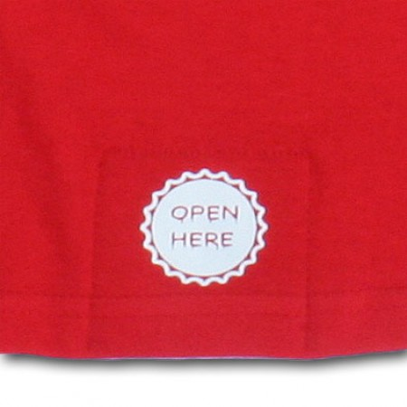 Drunk 2 Bottle Opener Halloween Costume Red T-Shirt
