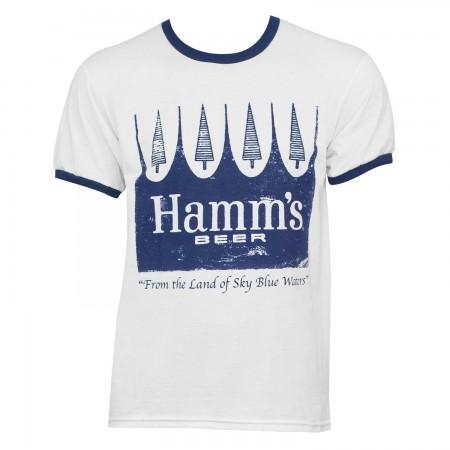 Hamm's Classic White Men's T-Shirt