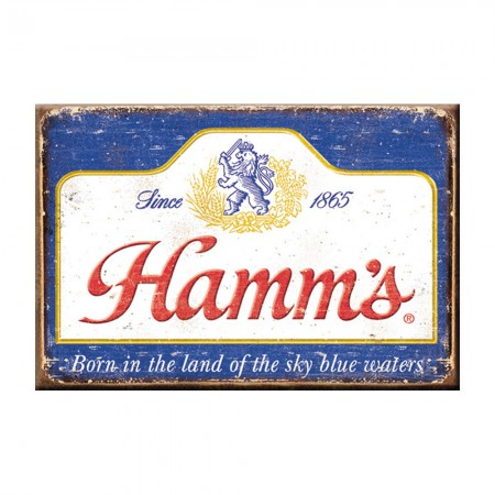 Hamm's Faded Logo Magnet