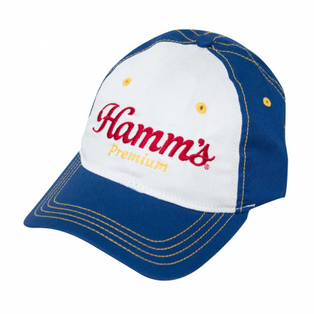 Hamm's Blue Embroidered Hat