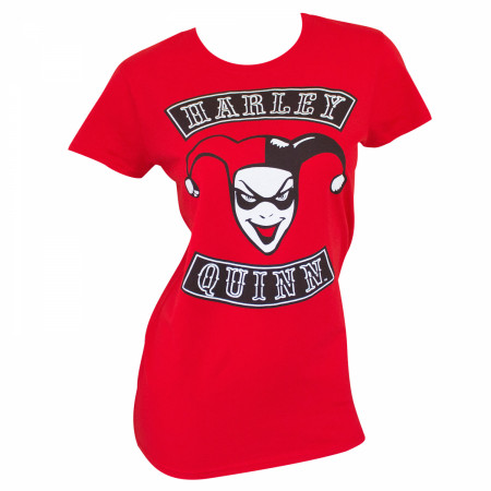 Harley Quinn Women's Red T-Shirt