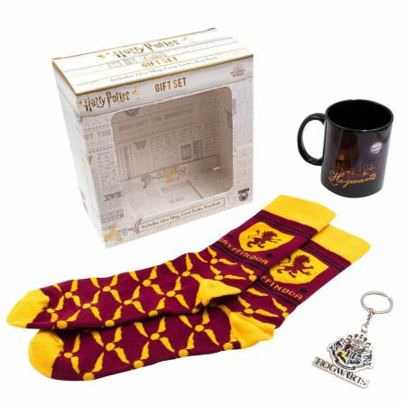 Harry Potter Hogwarts and Gryffindor Accessory Gift Set