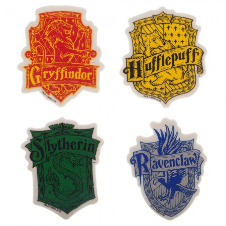 Harry Potter School Insignia Eraser Set