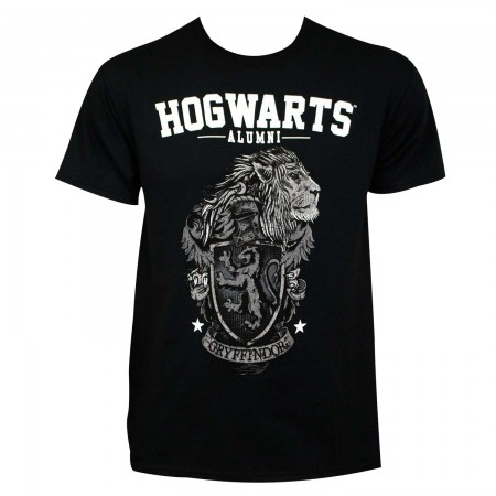 Harry Potter Men's Black Hogwarts Alumni T-Shirt